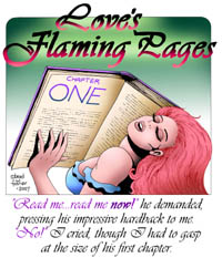 Love's Flaming Pages